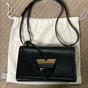 Pre-loved Loewe Black Barcelona Medium Bag